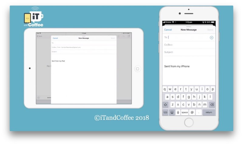 A great tip about iOS Mail - tutorial sample by iTandCoffee